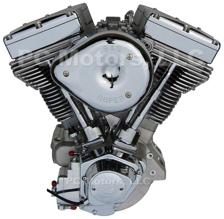 113 ci natural chrome finish driveline engine motor harley s s ultima el bruto ebay