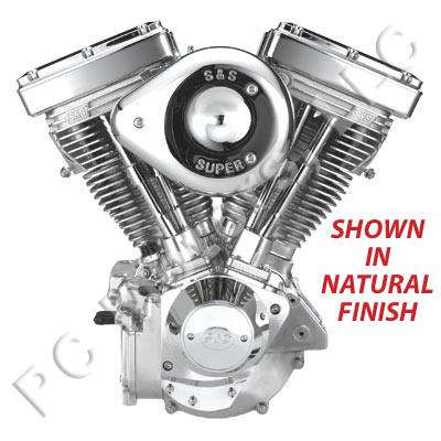 s s cycle 124 chrome engine motor 1984 1999 evolution evo. Black Bedroom Furniture Sets. Home Design Ideas